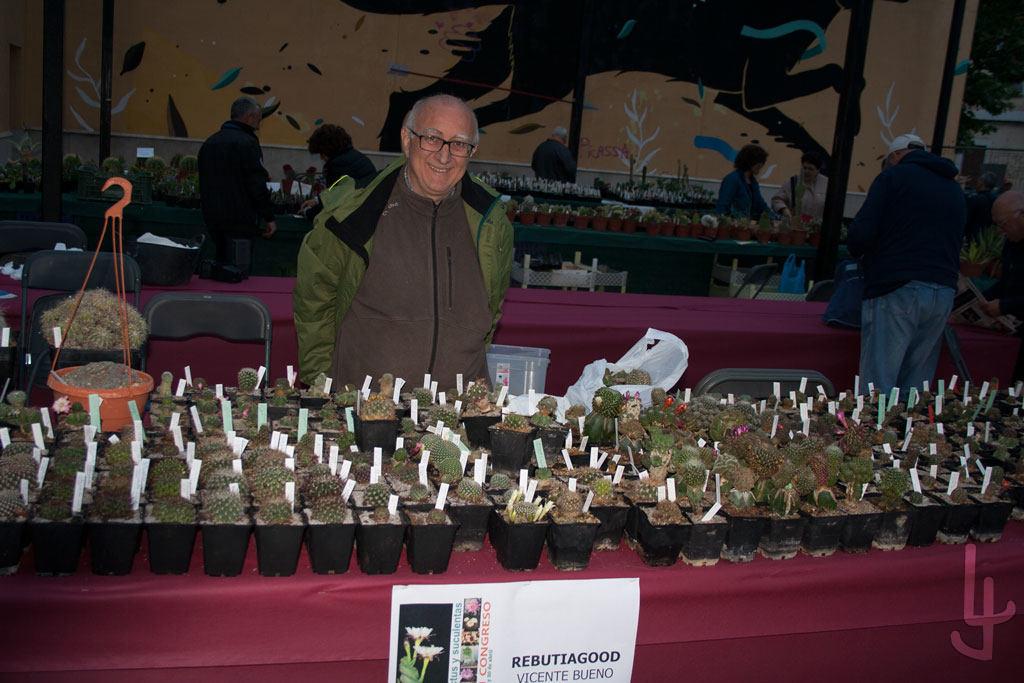 XII Congreso Cheste Cactus y Suculentas. Vicente Bueno