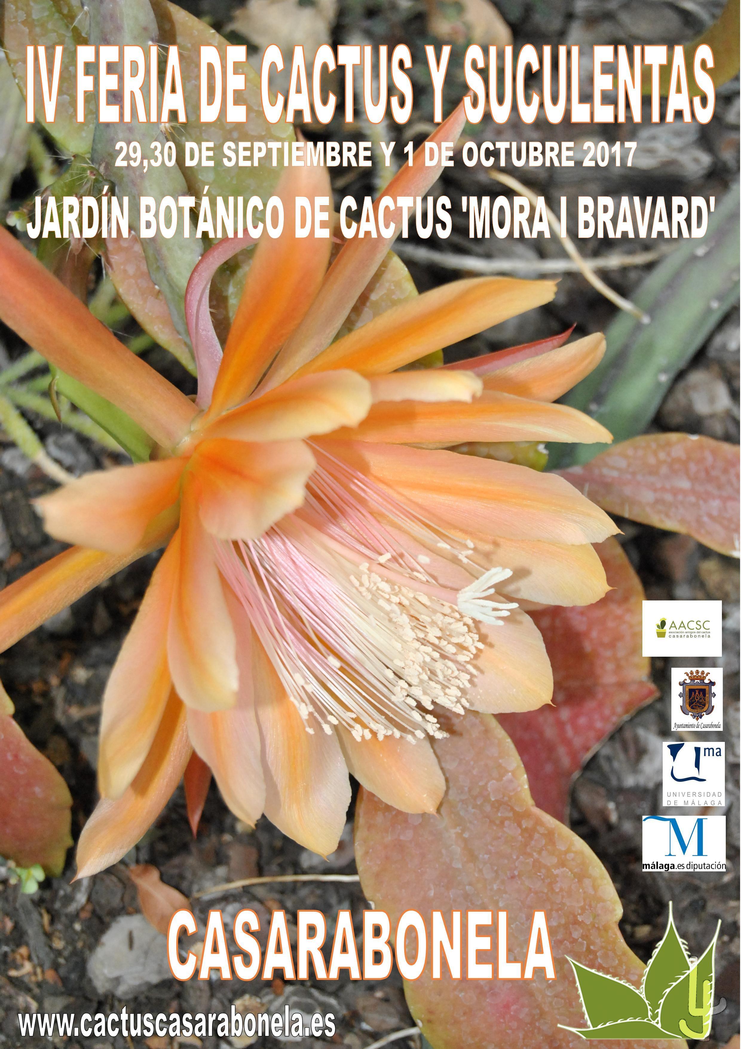 IV Feria del Cactus- Casarabonela